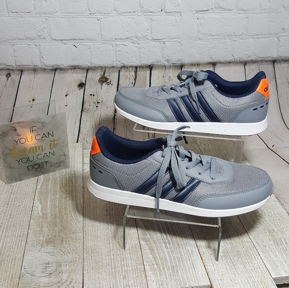 best sneakers b301c 9521e adidas Other - NWT Navy Blue and Grey pair of Mens Adidas Shoe